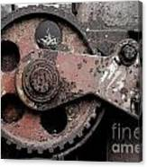 Gear Wheel Canvas Print