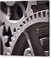 Gears Number 3 Canvas Print
