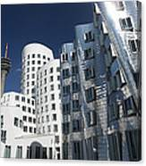 Gehry's Der Neue Zollhof Buildings Canvas Print
