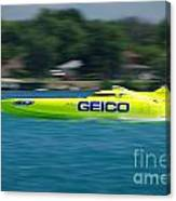 Geico Offshore Racer Canvas Print
