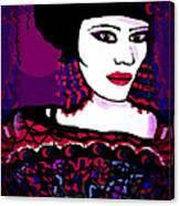 Geisha 3 Canvas Print