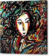 Geisha 7 Canvas Print