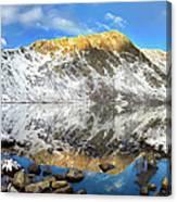Geissler Mountain In Linkins Lake Canvas Print