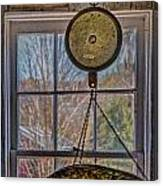 General Store Scale Canvas Print