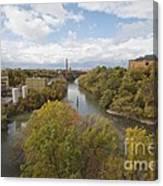 Genesee River Canvas Print