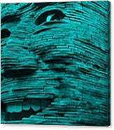 Gentle Giant In Turquois Canvas Print