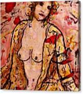 Gentle Nude Canvas Print