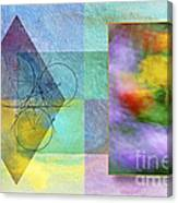 Geometric Blur Canvas Print
