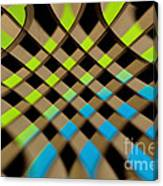 Geometrical Colors And Shapes 1 Canvas Print