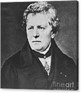 Georg Ohm, German Physicist Canvas Print