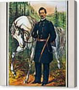 George B. Mcclellan, 1864 Canvas Print