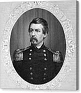 George Brinton Mcclellan Canvas Print