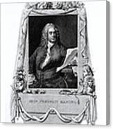 George Frideric Handel, German Baroque Canvas Print
