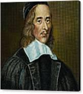 George Herbert (1593-1633) Canvas Print