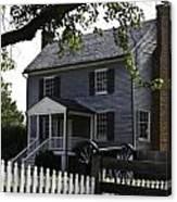 George Peers House Appomattox Virginia Canvas Print
