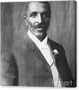 George W. Carver, African-american Canvas Print