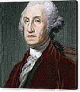 George Washington, First Us President Canvas Print