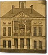 George Washingtons First Inauguration Canvas Print