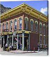 Georgetown Colorado On Canvas Canvas Print
