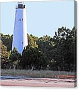 Georgetown Light Winyah Bay Sc Canvas Print