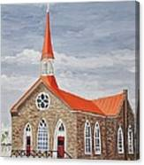 Georgetown Presbyterian Church Canvas Print