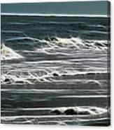 Georgia - Ocean Sparks Canvas Print