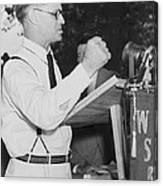 Georgia Governor Eugene Talmadge Canvas Print
