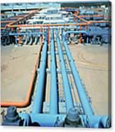 Geothermal Power Plant Canvas Print