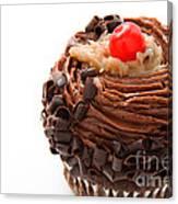 German Chocolate Cupcake 1 Canvas Print