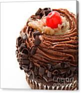 German Chocolate Cupcake 4 Canvas Print