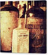 German Liver Powder Canvas Print