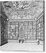 Germany: Gallery, 1731 Canvas Print