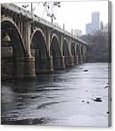 Gervais Street Bridge Angled Canvas Print