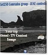 Get250 Comrades June Logo Canvas Print