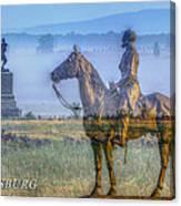 Gettysburg Battlefield Canvas Print