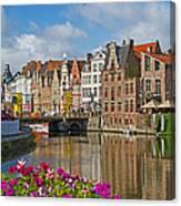 Ghent  Belgium Canvas Print