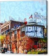Ghirardelli Chocolate Factory San Francisco California . Painterly . 7d14093 Canvas Print