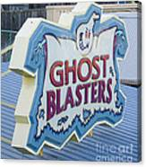 Ghost Blasters Canvas Print
