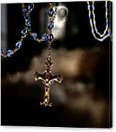 Ghost Of A Rosary Canvas Print