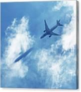 Ghost Plane Canvas Print