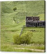 Ghost Town Galilee Saskatchewan Canvas Print