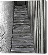 Ghost Town Stairs Bodie California Canvas Print
