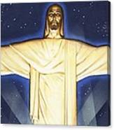 Giant Figure Of Christ Canvas Print