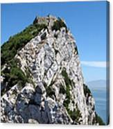 Gibraltar's Moorish Castle Canvas Print