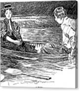 Gibson: A Drama, 1895 Canvas Print