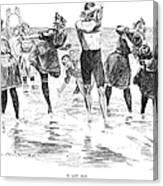 Gibson: Bathing, 1892 Canvas Print