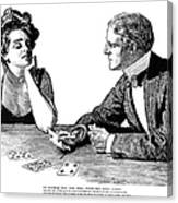 Cards, 1900 Canvas Print