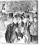 Gibson: Church Parade Canvas Print