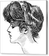 Gibson: Gibson Girl, C1904 Canvas Print