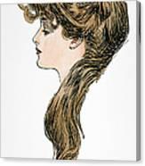 Gibson Girl, 1903 Canvas Print